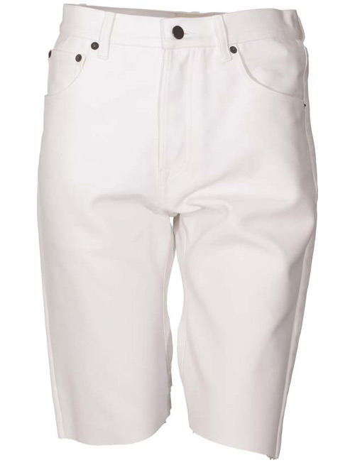 short white jeans - Jean Yu Beauty